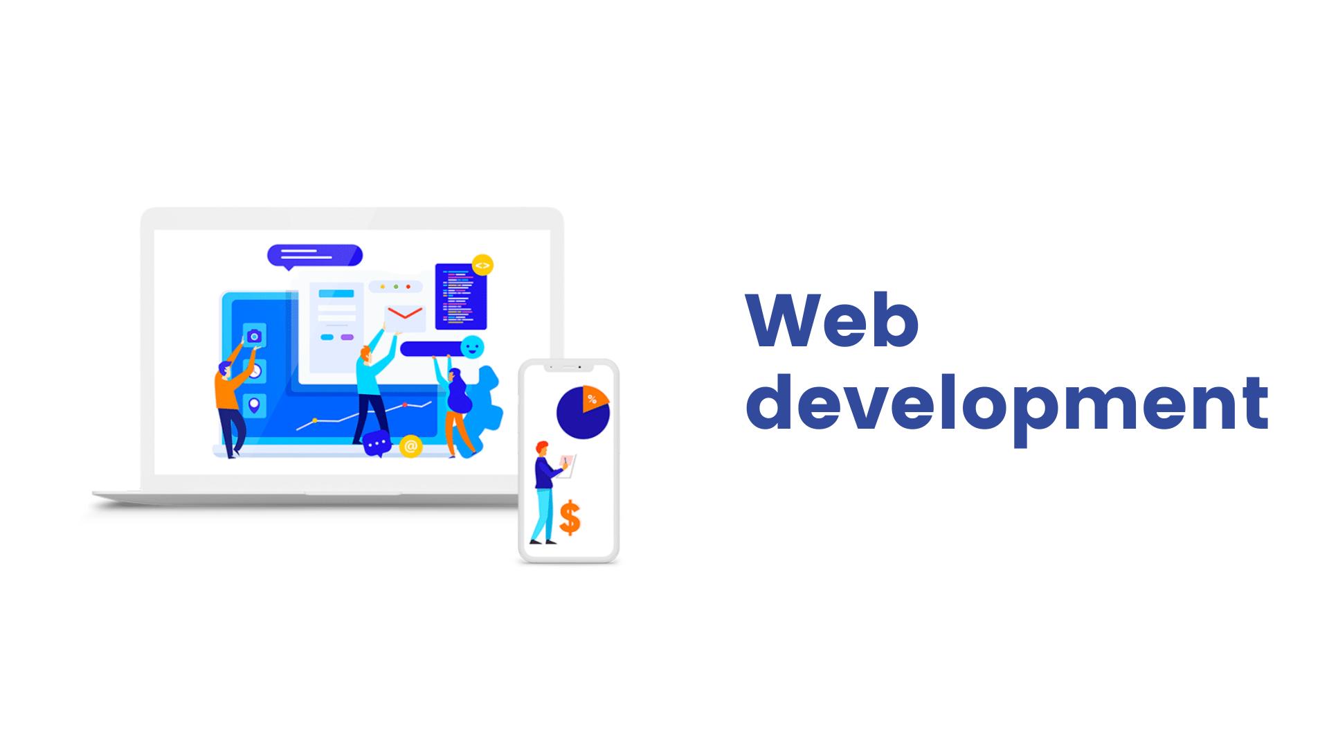 Web development, servicii dezvoltare web, web design. Oferim servicii web development profesionale pentru dezvoltare afaceri online. Realizam site de prezentare, magazin online, platforme web, redesign site, modificari site, optimizari constante.